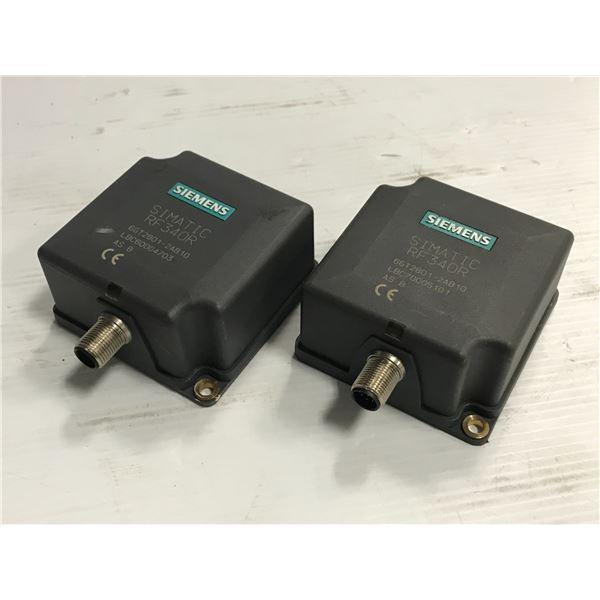 Lot of (2) Siemens #6GT2801-2AB10 RF340R Reader