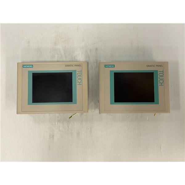 (2) Siemens # 6AV6 642-0BA01-1AX1 Screens