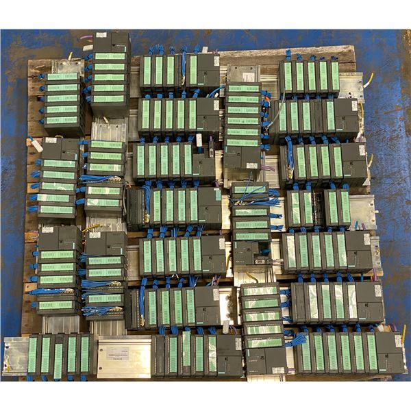 Skid Lot of Siemens Racks With Modules