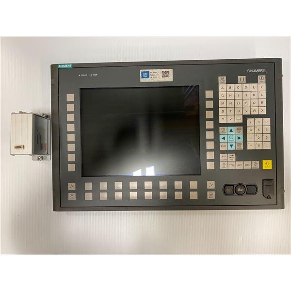 Siemens #6FC5203-0AF02-0AA1 Sinumerik Operator Panel Front w/6FC5247-0AF11-0AA0