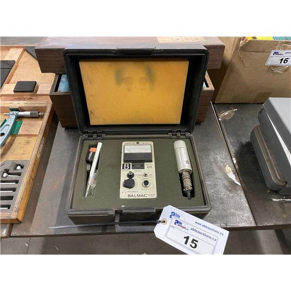 BALMAC 211 VIBRATION TESTER IN CASE & WESTERN VIBRATION TECHNOLOGY METAL STABILIZATION UNIT IN CASE
