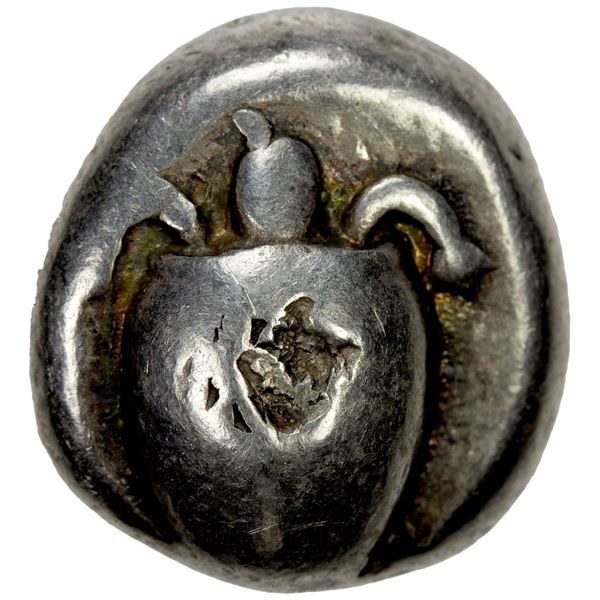 AEGINA: AR stater (12.01g), ca. 525-480 BC. F