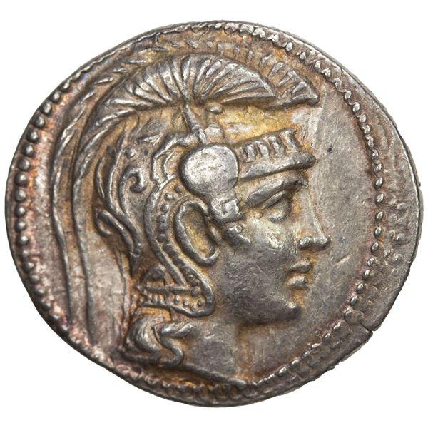 ATTICA: Athens, AR tetradrachm (17.11g), 165/4 BC. VF