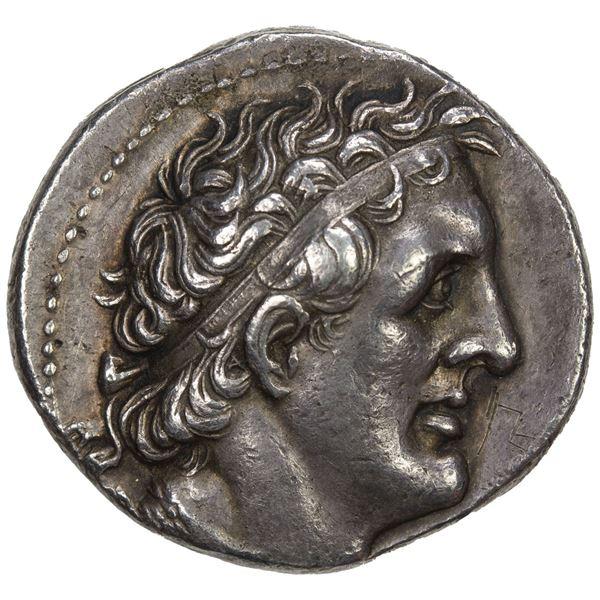 EGYPT (PTOLEMAIC): Ptolemy II Philadelphos, 285-246 BC, AR tetradrachm (14.24g), Alexandreia. VF