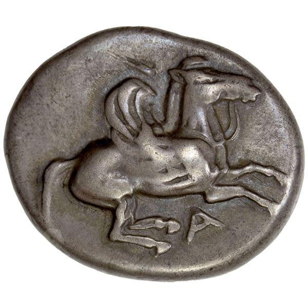 EPEIROS: Ambrakia, AR stater (8.49g), ca. 480-456 BC. F-VF