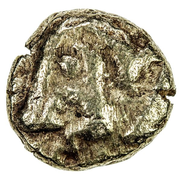 IONIA: Uncertain, EL hekte (1/6 stater) (2.25g), ca. 650-600 BC. VF