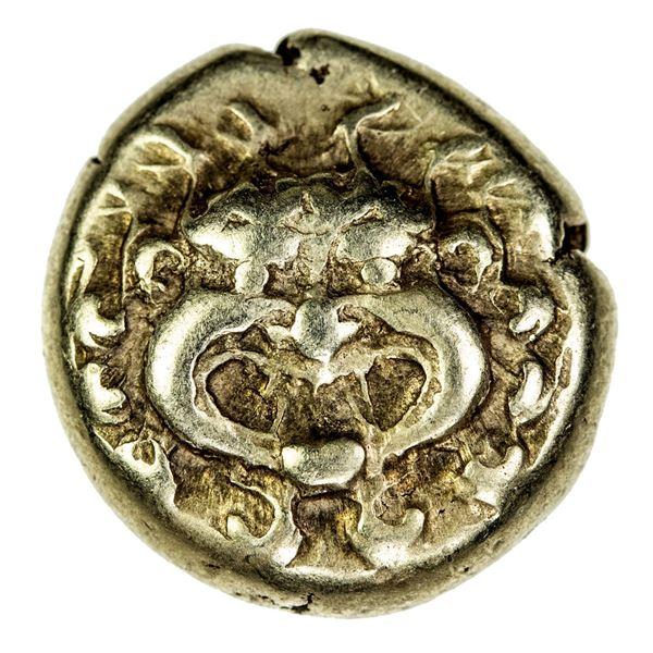 LESBOS: Mytilene, EL hekte (1/6 stater) (2.53g), ca. 521-478 BC. VF