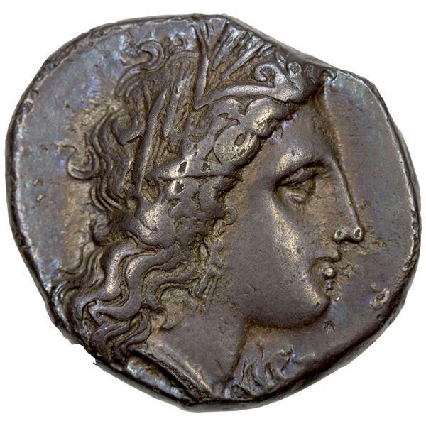 LUCANIA: Metapontion, AR nomos (7.69g), ca. 330-290 BC. VF