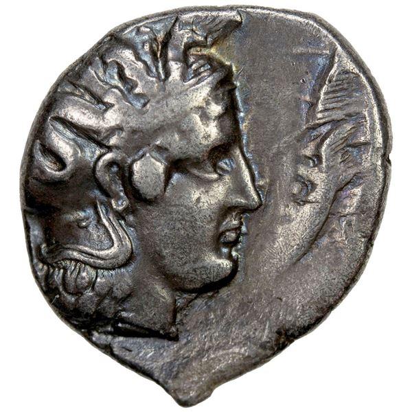 LUCANIA: Thourioi, AR nomos (7.76g), ca. 400-350 BC. VF
