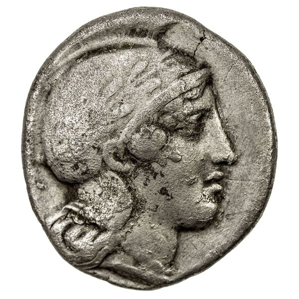 LUCANIA: Thourioi, AR stater (7.51g), ca. 443-400 BC. F-VF