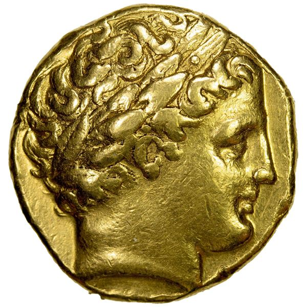 MACEDONIAN KINGDOM: Philip II, 359-336 BC, AV stater (8.55g), Magnesia on the Meander. VF