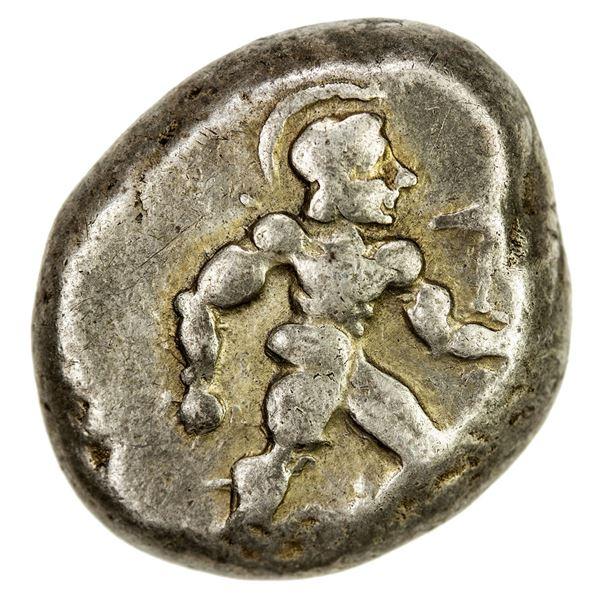 PAMPHYLIA: Aspendos, AR stater (10.92g), ca. 450 BC. F