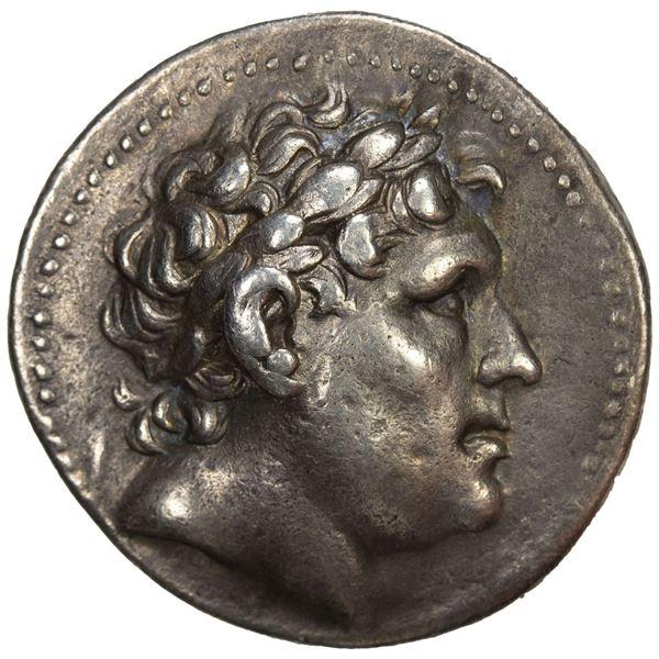 PERGAMENE KINGDOM: Eumenes I, 263-241 BC, AR tetradrachm (17.00g), Pergamon, ca. 255/50-241 BC. VF