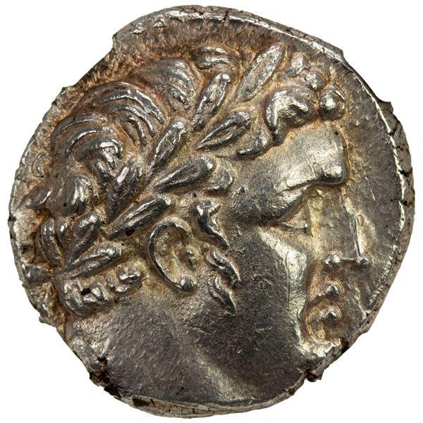 PHOENICIA: Tyre, AR shekel (14.15g), CY 168 (42/3 AD). NGC MS