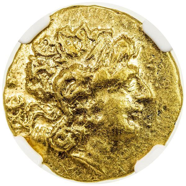 PONTIC KINGDOM: Mithradates VI Eupator, 120-63 BC, AV stater (8.23g), Tomis. NGC EF