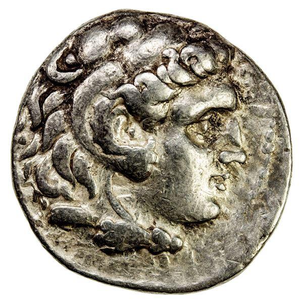 SELEUKID KINGDOM: Seleukos I Nikator, 312-281 BC, AR tetradrachm (16.77g), Uncertain Mint 3, probabl