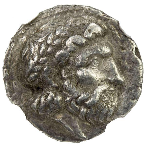 SELEUKID KINGDOM: Seleukos I Nikator, 312-281 BC, AR drachm (3.43g), Seleukeia on the Tigris II, ca.