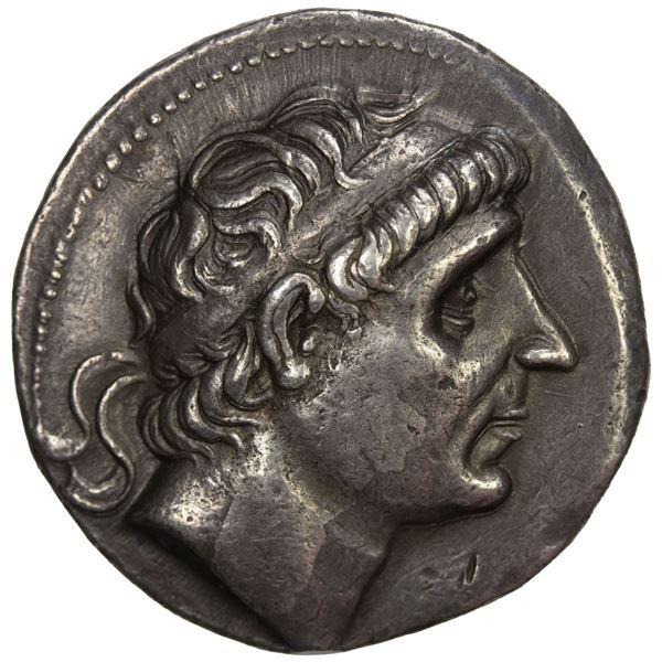 SELEUKID KINGDOM: Antiochos I Soter, 281-261 BC, AR tetradrachm (17.02g), Seleukeia on the Tigris. V