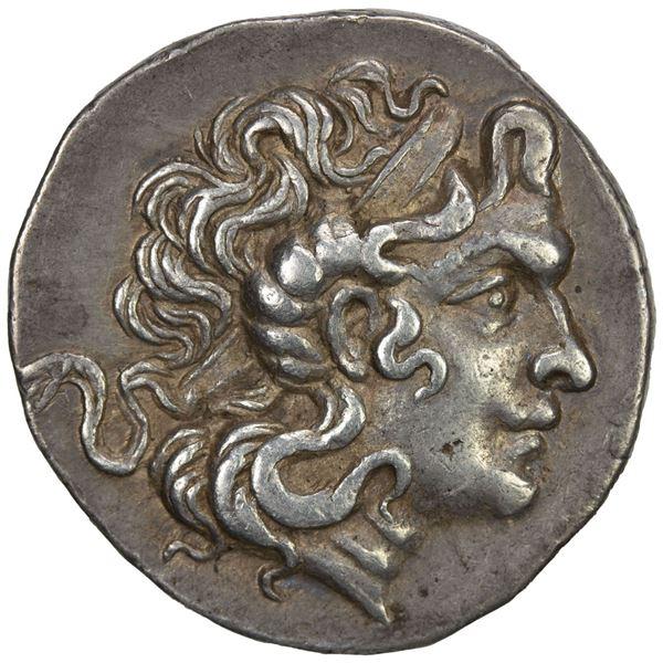 THRACE: Byzantion, AR tetradrachm (16.21g), ca. 2nd-1st century BC. VF