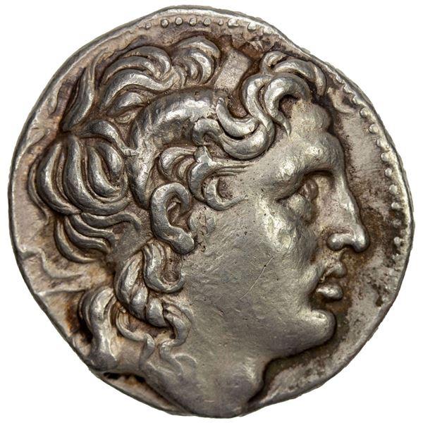 THRACIAN KINGDOM: Lysimachos, 305-281 BC, AR tetradrachm (17.11g), Amphipolis, ca. 288/7-282/1. VF