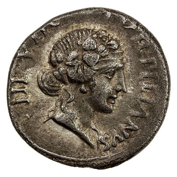 ROMAN EMPIRE: Augustus, 27 BC-14 AD, AR denarius (3.68g), Rome, 19-18 BC. VF