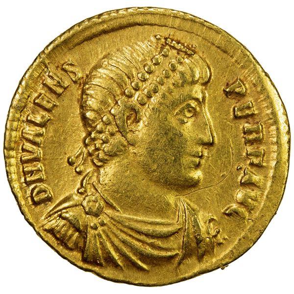 ROMAN EMPIRE: Valens, 364-378 AD, AV solidus (4.49g), Antioch. VF-EF
