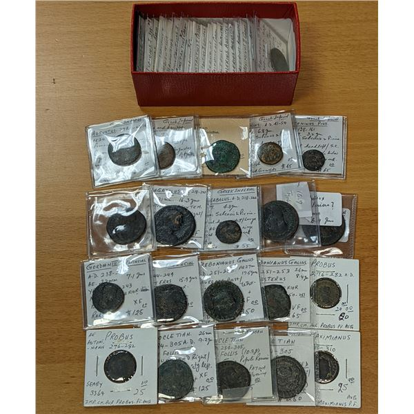 ROMAN EMPIRE: LOT of 41 Imperial & Provincial bronzes