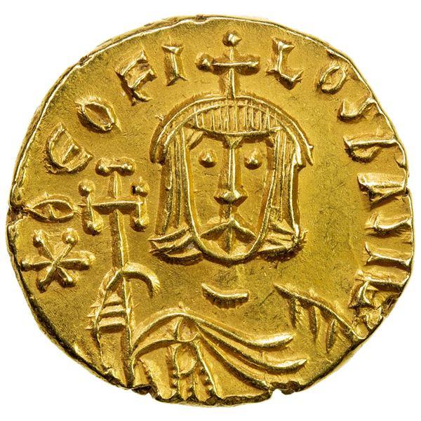 BYZANTINE EMPIRE: Theophilus, 829-842, AR solidus (3.89g), Syracuse. AU