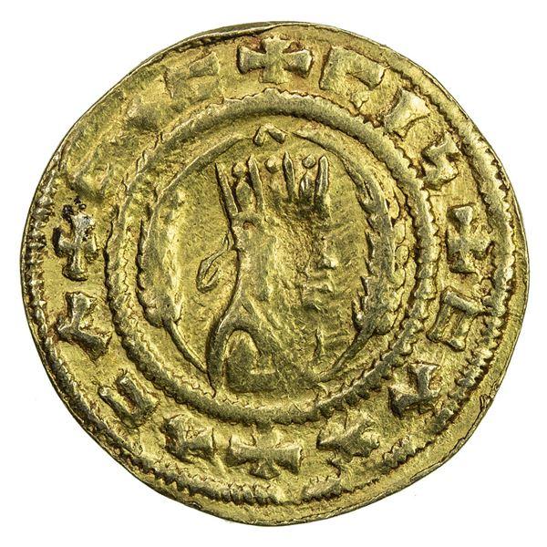 AXUM: Ebana, 5th century, AV unit (1.58g). VF