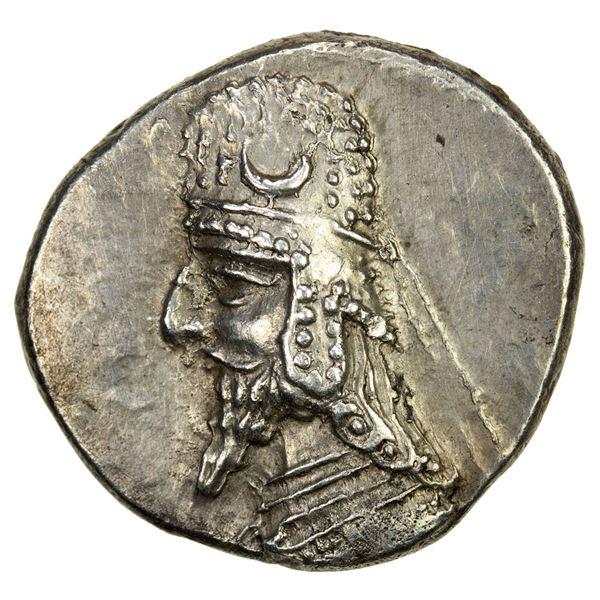 PERSIS KINGDOM: Darev II, 1st century BC, AR drachm (4.16g). EF