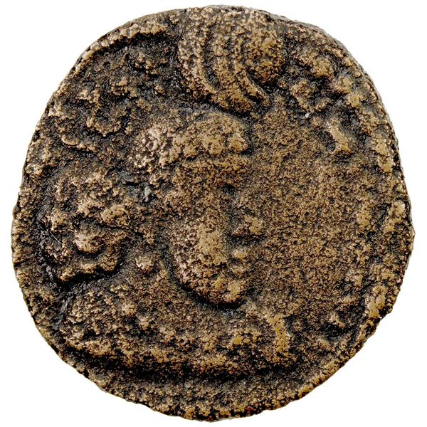 SASANIAN KINGDOM: Hormizd I, 272-273, AE pashiz (1.98g). VF