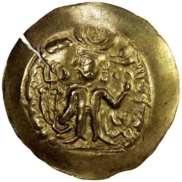 ALKHON: Khingila, ca. 440-490, AV dinar (7.09g). EF