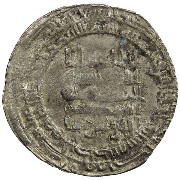 ABBASID: al-Mustakfi, 944-946, AR dirham (2.81g), Antakiya, AH333. VF