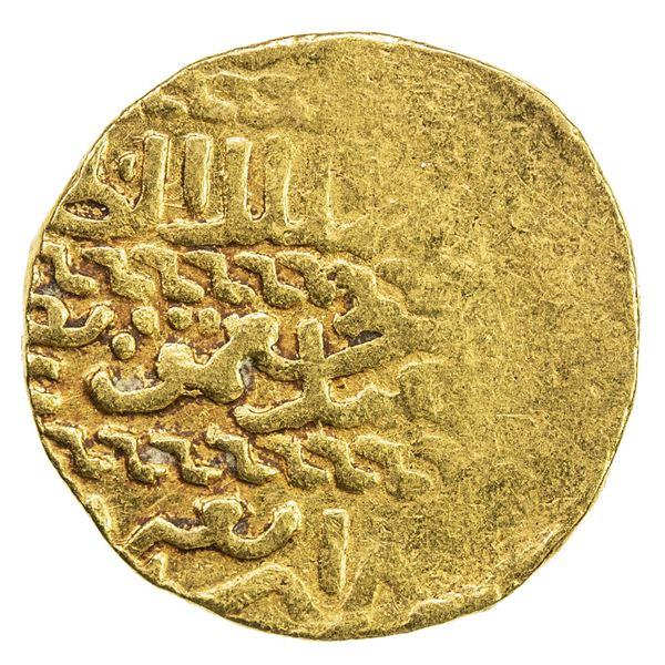 BURJI MAMLUK: Jaqmaq, 1438-1453, AV ashrafi (3.41g), NM, AH(8)4x. VF