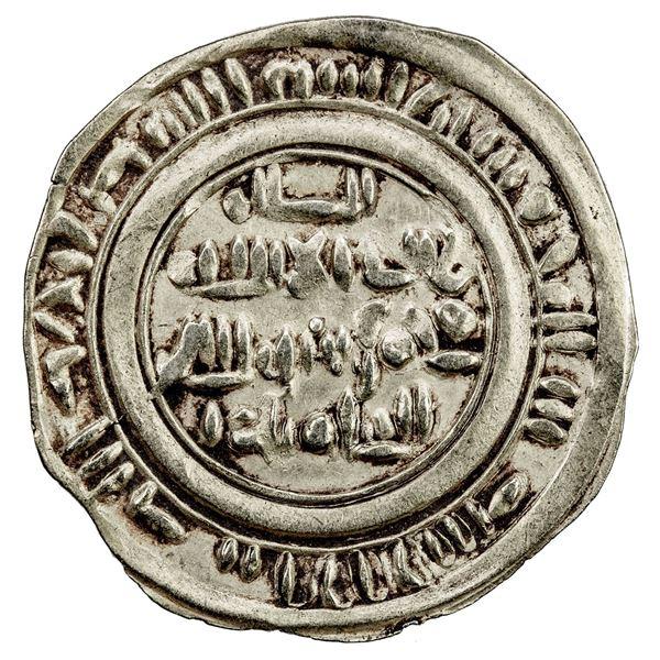 NAJJAHID: Jayyash, 1073, AV dinar (2.38g), Zabid, AH(4)65. VF-EF