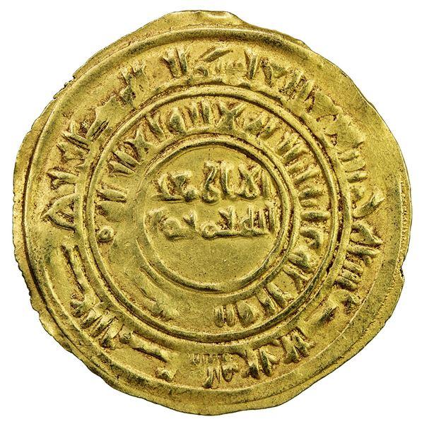 SULAYHID: 'Ali b. Muhammad, 1047-1081, AV dinar (2.51g), Zabid, AH445. VF