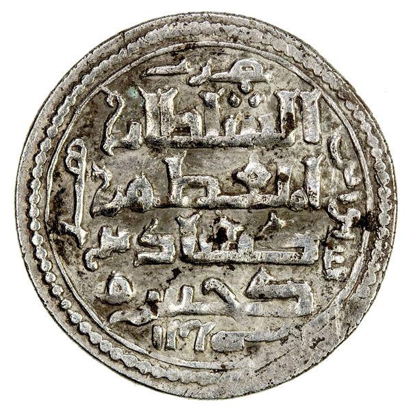 SELJUQ OF RUM: Kayqubad I, 1219-1236, AR ½ dirham (1.42g), Sivas, AH625. VF-EF