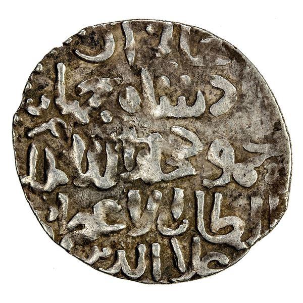 SELJUQ OF RUM: Kayqubad III, 1298-1302, AR dirham (2.78g), Arzan al-Rum (Erzurum), AH698. VF