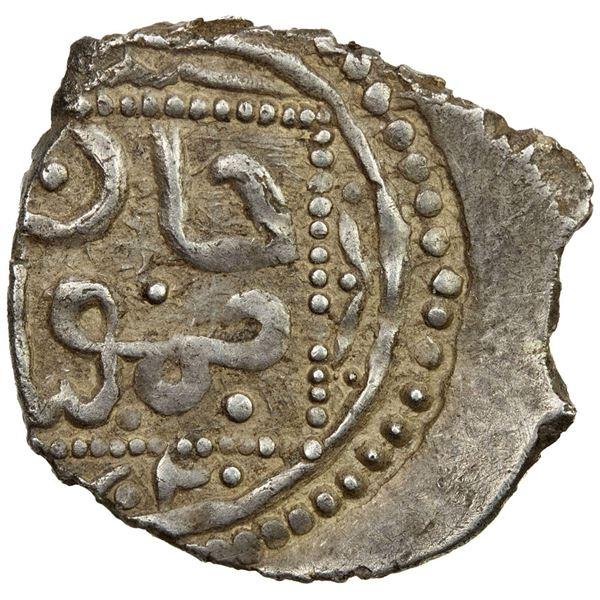 GERMIYAN: Timur, recognized 1402-1405, AR akçe (0.95g), Germiyan, ND. VF-EF