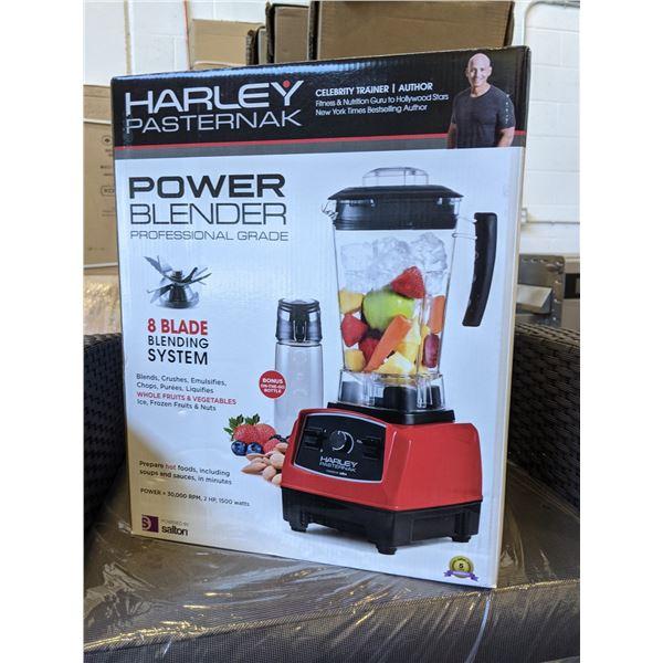 NEW Salton Harley Pasternak Power Blender Professional Grade 8 Blade Blending System