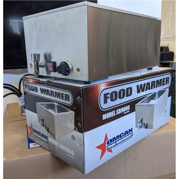 "NEW Omcan Food Machinery Food Warmer Model SB9000 - 15.25"" x 25"" x 14"" - 22.65LBs"