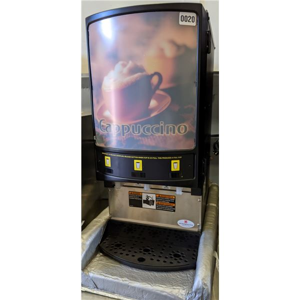 New Grindmaster model pic3 commercial cappuccino machine