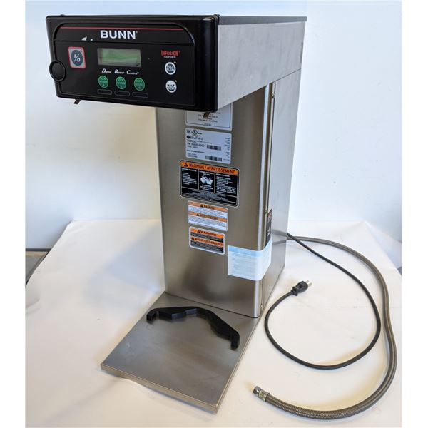 BUNN Coffee Brewer Model no. ICB-DV - Stainless Steel 1 brewer - working condition