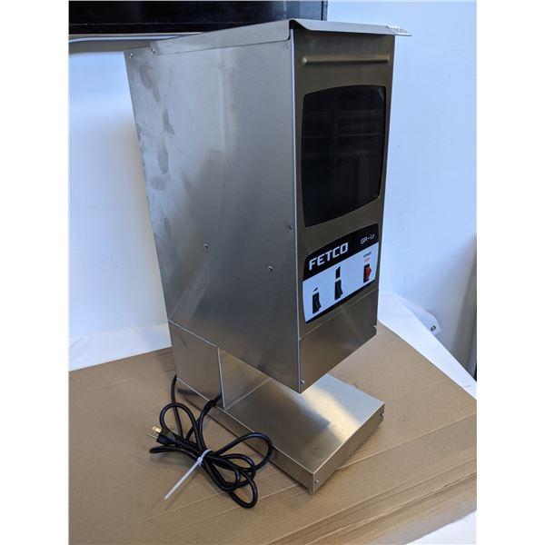 Fetco - Single Hopper Coffee Grinder 2 Batch Buttons - GR-1.2