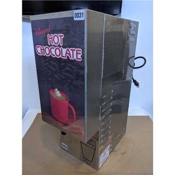 NEW Crathco Whipped Hot Chocolate Dispenser Model HC-2