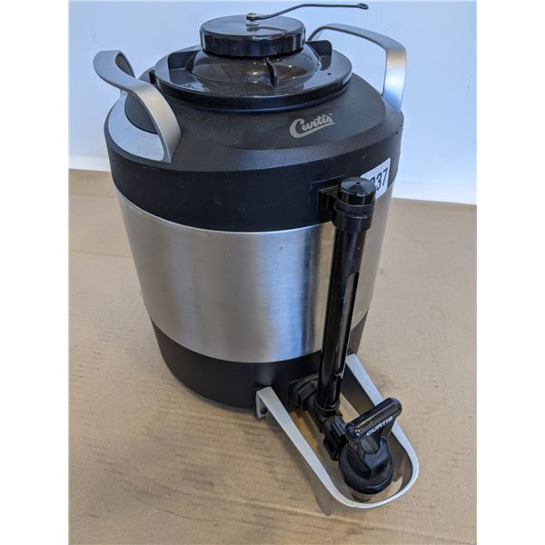 Curtis TXSG0101S600 1 gal ThermoProª Vacuum Server - Stainless steel