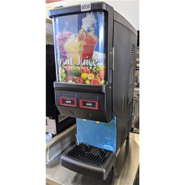 NEW Cornelius Quest Elite 2000, 2 Flavor, illuminated, Single Panel Merchandiser, Push Dispense