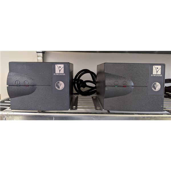 Lot of 2 Powervar Power Conditioner Ground Guard ABCG100-11W