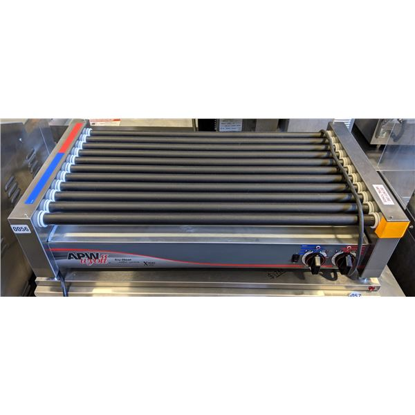 "Brand new APWwyott Xpert Series 11 Hot-Dog Roller (Approx. 35"" x 19"" x 9"")"