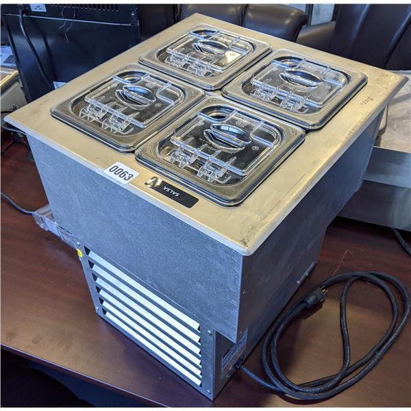 "APW Wyott Standex RTR-4Di Drop-in Cold Well - (Approx. 17"" x 18"" x 19"")"